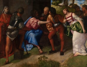 Titian: Christ and the Adulteress