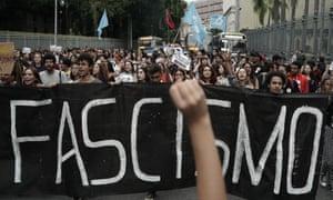 Snitch on a teacher: Bolsonaro win sparks push against