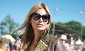 Kate Moss during day 3 of 2013's Glastonbury.