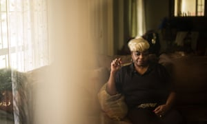 Ruby Dee Rudolph in her home in Lowndes County. A recent study suggests that nearly one one in three people in Lowndes County have hookworm, a parasite normally found in poor, developing countries.