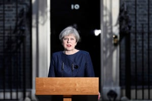 May announces a snap election for 8 June 2017