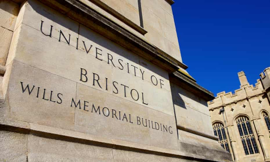 Wills Memorial building, part of the University of Bristol