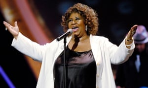 Aretha Franklin at the 10th Annual Soul Train Lady of Soul Awards in Pasadena, California, in 2005.