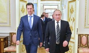 Putin with Assad