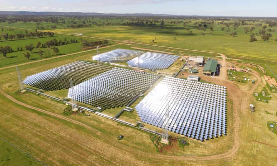 Vast Solar is gradually build up its solar thermal plant in Jemalong, New South Wales, and will soon have 6MW capacity