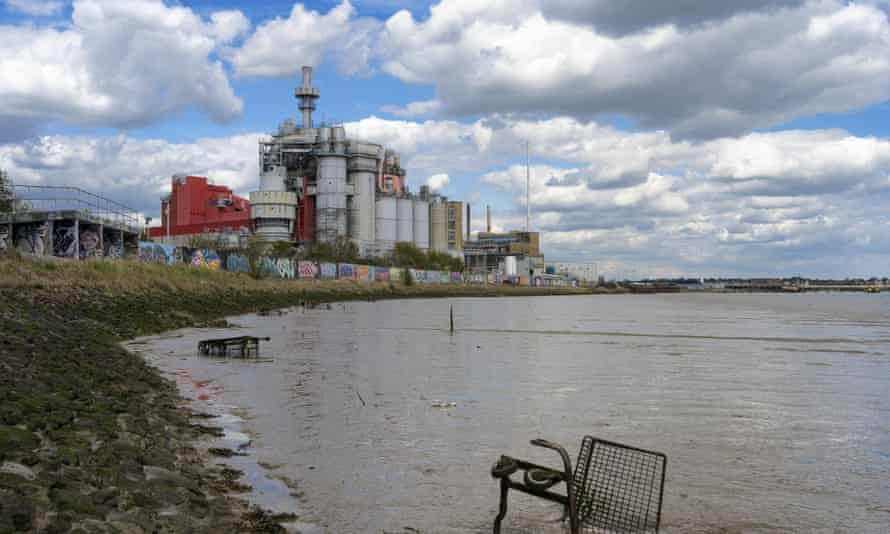The Proctor and Gamble factory, on the Thames Estuary, across the river from Dartford, where Arnold grew up.