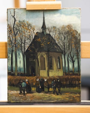 Congregation Leaving the Reformed Church in Nuenen.
