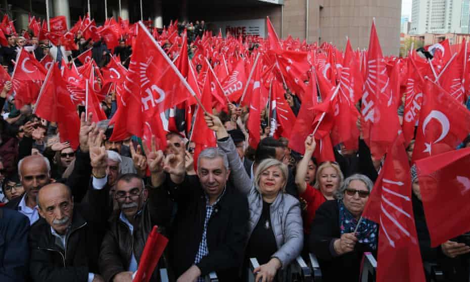 A CHP rally