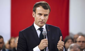 Emmanuel Macron's ambassador said there was no justification, and only danger, in extending UK membership of the EU.