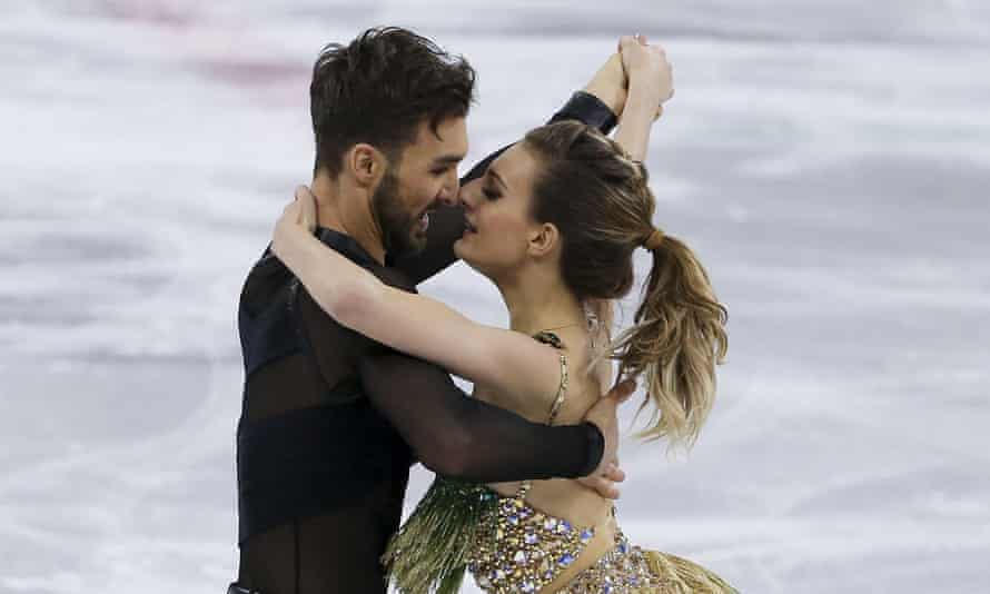 Papadakis and Cizeron survived the mishap, and are currently well-placed for a medal.