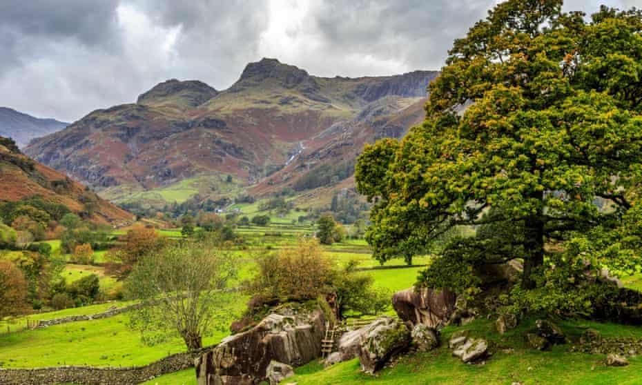 Langdale, Lake District.