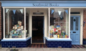 Southwold Books's quaint exterior.