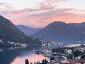 A view of Kotor in Montenegro taken during the pandemic in November 2020