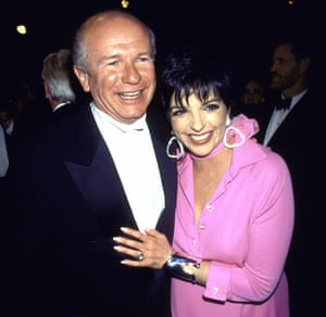 McNally with actress/singer Liza Minnelli.