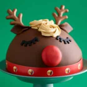 Co-op Ruby Reindeer Cake