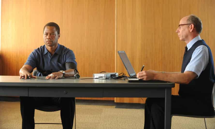 Cuba Gooding Jr as O.J. Simpson in The People v OJ Simpson: American Crime Story.
