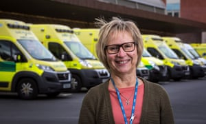 Jane Flint, humanist chaplin at University of Leicester hospitals NHS trust: 'A lot of people – not just the older people – will say 'nobody has the  time to give me time.''