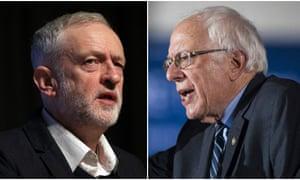 Jeremy Corbyn and Bernie Sanders.