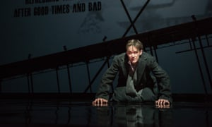 Schubert on his mind… tenor Ian Bostridge in Netia Jones's 'fearless' production of Zender's Winterreise at the Barbican.