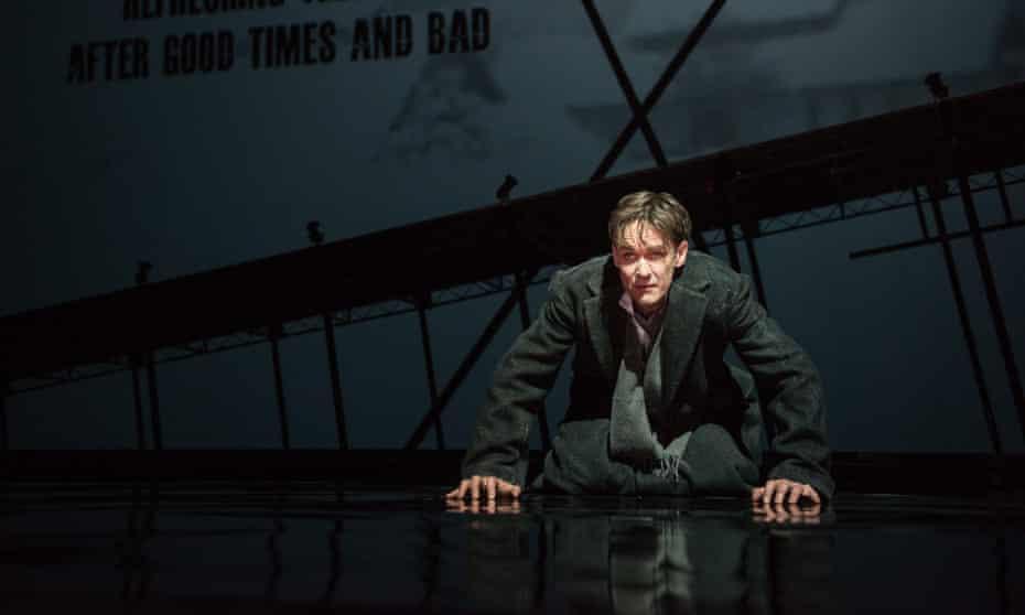 Schubert on his mind… tenor Ian Bostridge in Netia Jones's 'fearless' production of Zender's Winterreise at the Barbican.