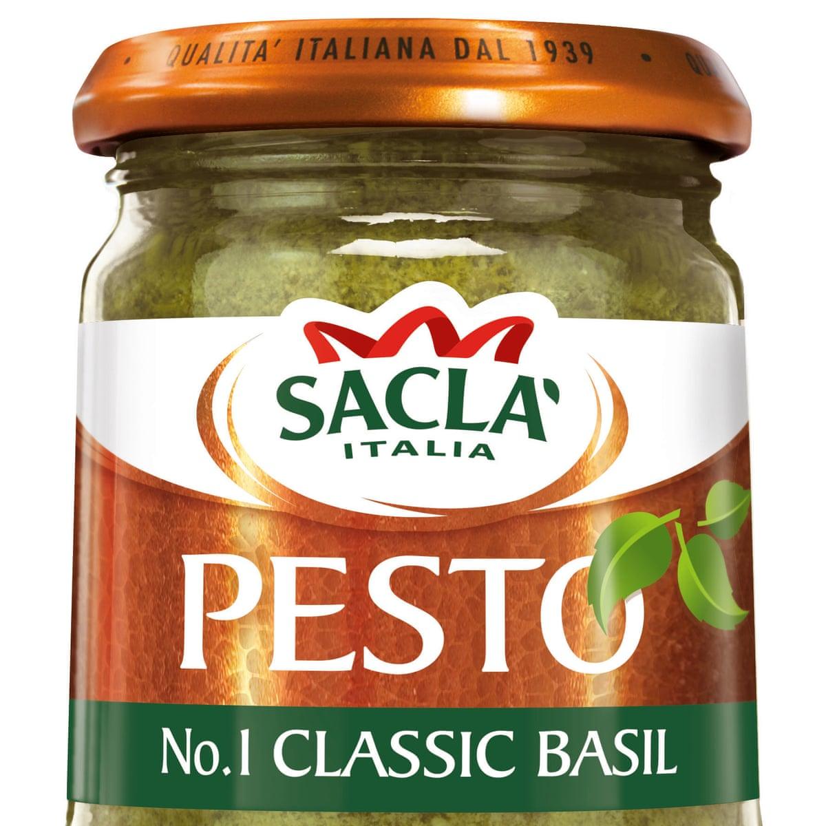 Sacla Recalls Pesto Products Over Peanut Contamination Fears Food The Guardian