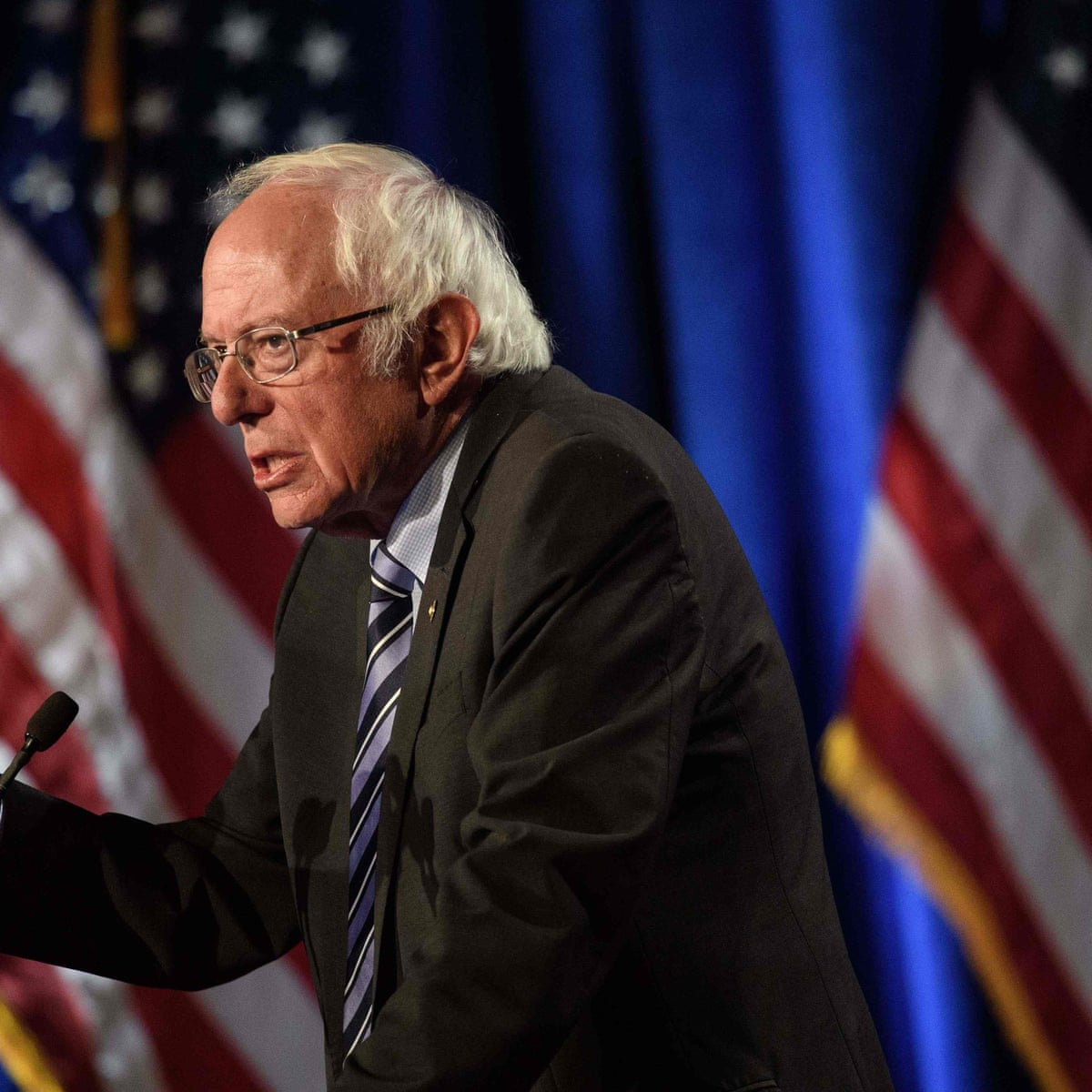 Sanders Issues Stark Warning On Trump And Calls For Election Commission Bernie Sanders The Guardian