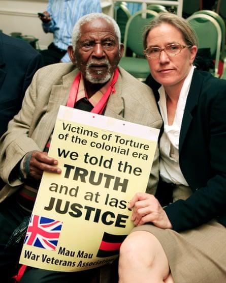Caroline Elkins with Gitu Wa Kahengeri,