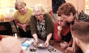 A Life Cafe getting people together to play games and spark conversations about death.