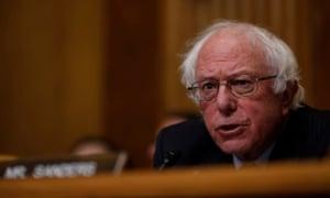 Senator Bernie Sanders: cash bail 'brings us almost back to Charles Dickens's era of the debtor jails where people were in jail because they were poor'.
