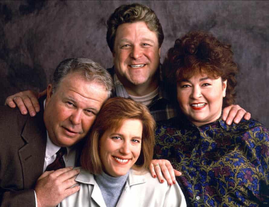 Ned Beatty, Natalie West, John Goodman and Roseanne Barr.