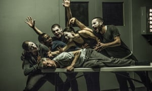 Betroffenheit by Crystal Pite and Jonathon Young (prone).