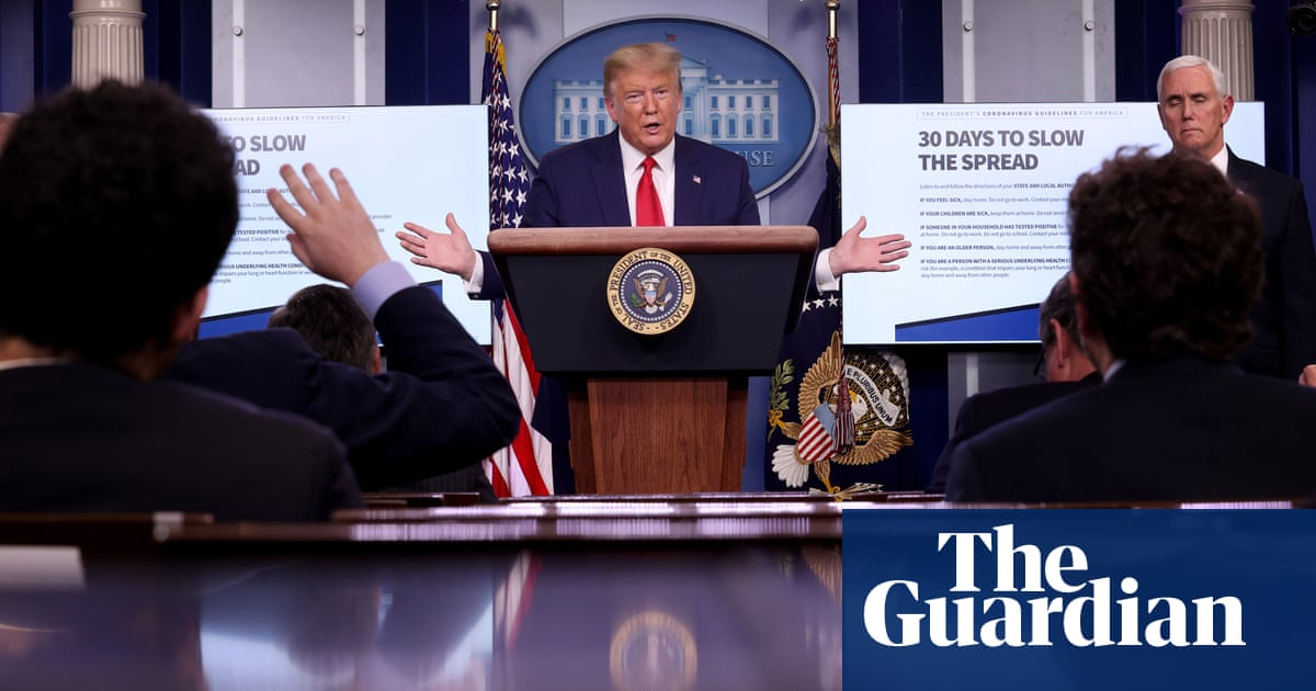 'Thats a nasty, snarky question': Trump's media assault rages on in midst of coronavirus crisis