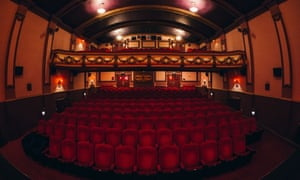 The auditorium at Hyde Park Picture House in Leeds