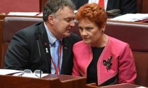 Rodney Culleton and Pauline Hanson