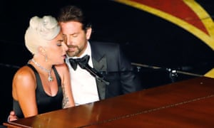 Lady Gaga and Bradley Cooper gave an intensely intimate performance of the winning song.