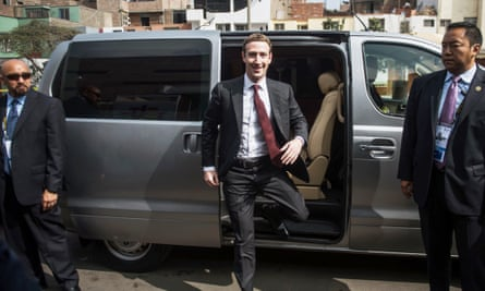 Facebook CEO Mark Zuckerberg in Lima. The social media giant has faced increasing criticism for its power to polarize.