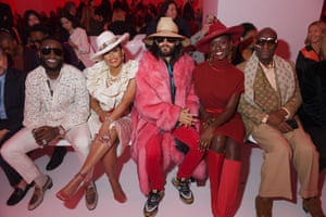 Milan Fashion Week: Gucci Mane, Keyshia Ka'oir, Jared Leto, Jodie Turner-Smith and Dapper Dan attend the Gucci show