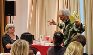 John Agard, poet, playwright and author, talked about how poetry connects with the oral reading tradition at Guardian Education Centre Reading for pleasure conference on 5 July 2018.