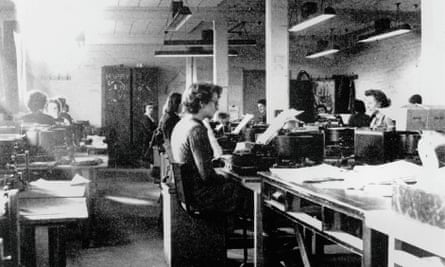 Codebreakers at Bletchley Park, Buckinghamshire, c1942.