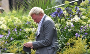 Boris Becker 'is the famous German who feels more comfortable with them than in his homeland, and explains the quirks of tennis with humour', says Stern magazine.