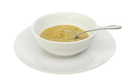 Soup … 2.6g a can