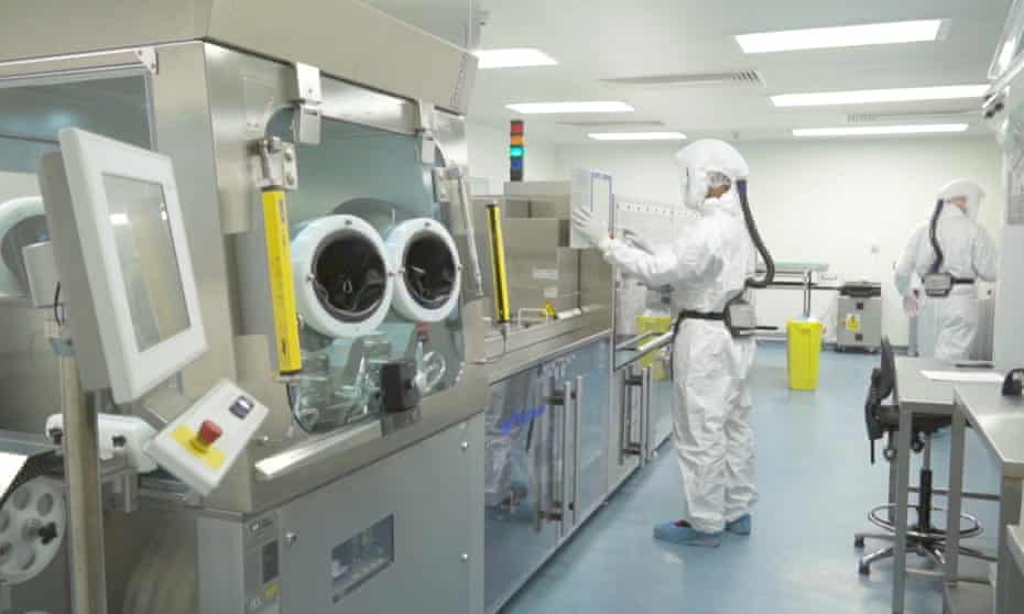 Vectura manufacturing facility