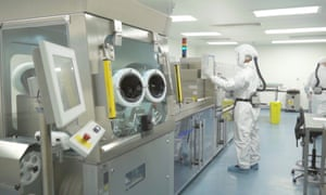 A Vectura manufacturing facility.