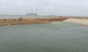 The Tata Mundra power plant in Gujarat