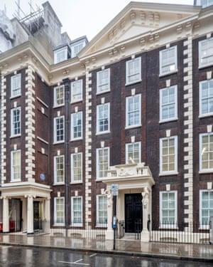 Schomberg House in London.