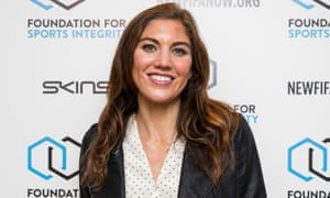 Hope Solo at the conference.