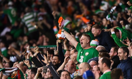 Cardiff in full voice but Republic of Ireland fans sing longest and loudest | Stuart James
