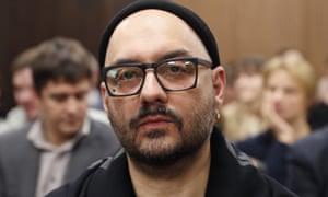Kirill Serebrennikov at a hearing in Moscow in November 2018