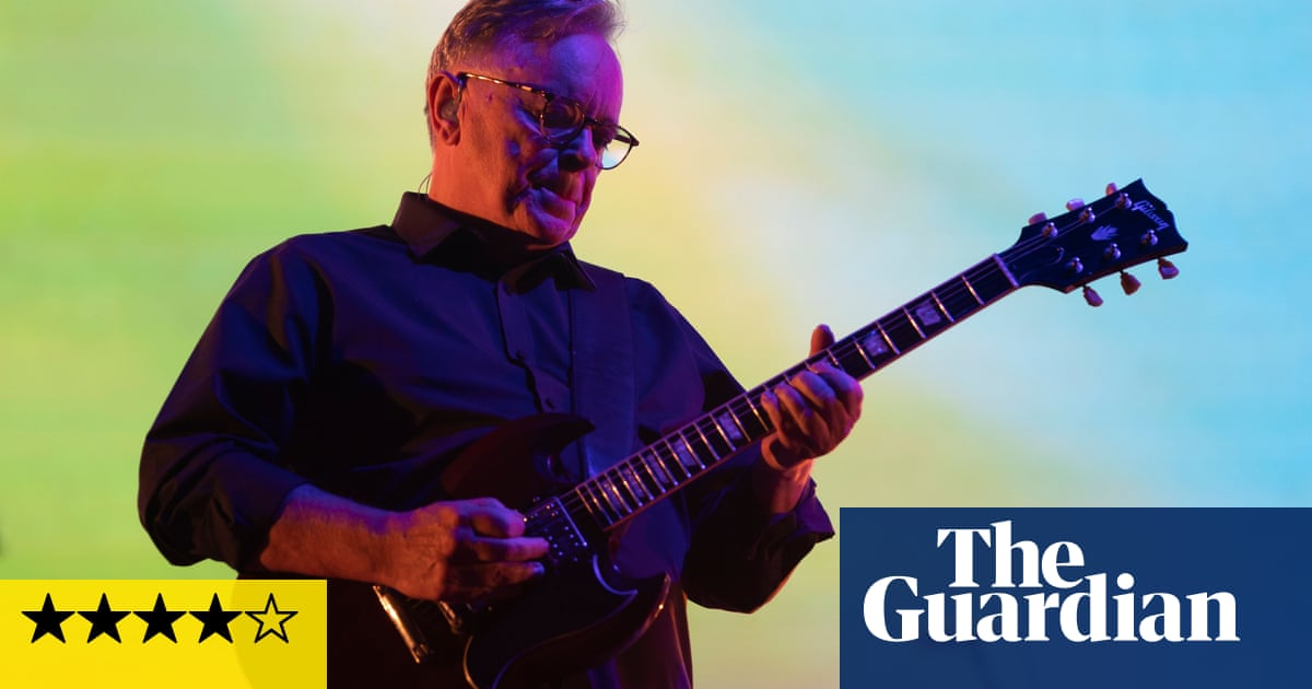 New Order review – still plugged into the future after all these years