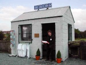 The Border Interpretative Centre by artist John Byrne.